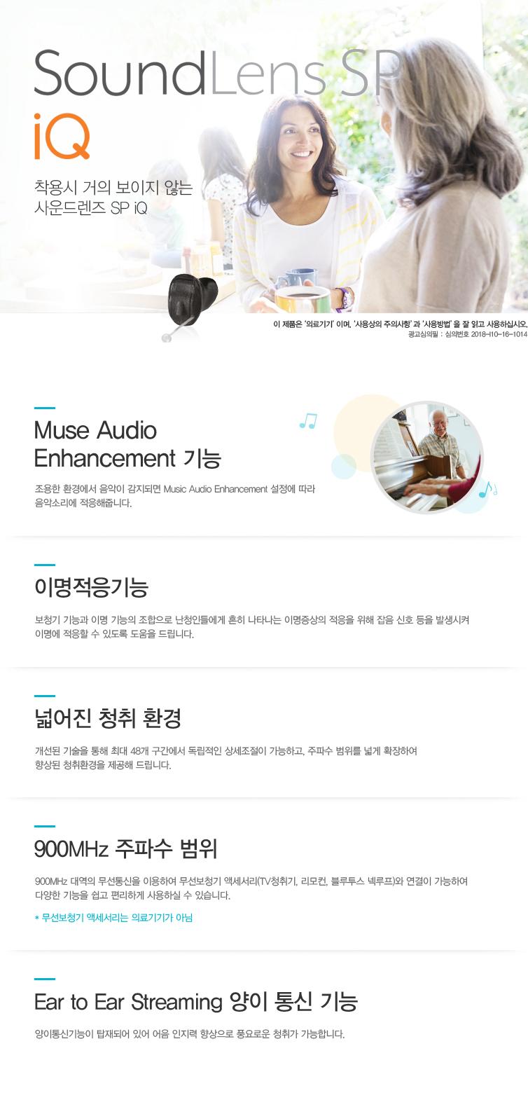 SoundLens SP iQ